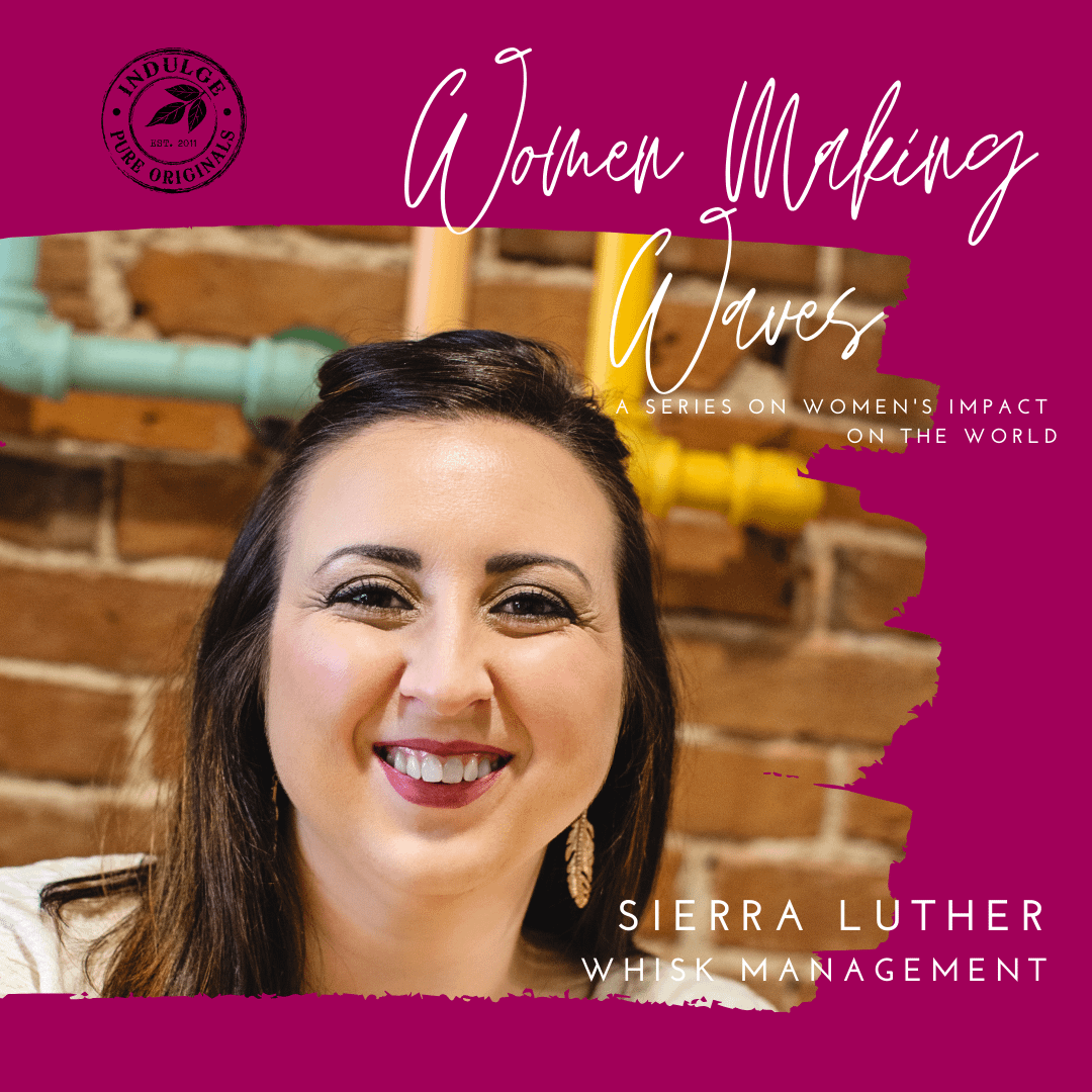 Sierra Luther of Whisk Management