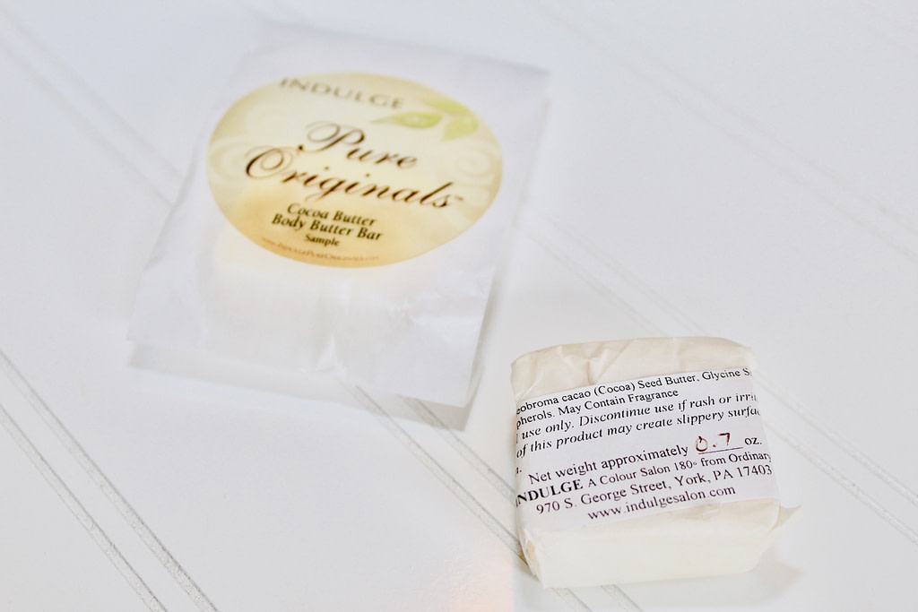 2011 Versus 2018 Body Butter Bar Packaging