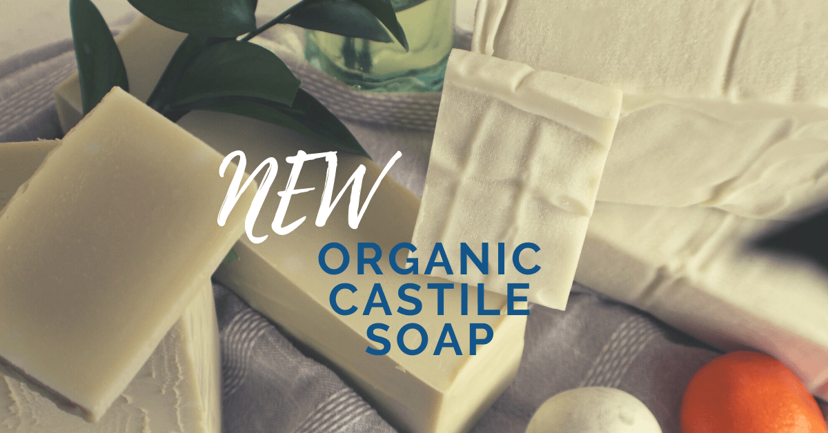 100% Organic Castile Soap Handmade in Bishop Georgia