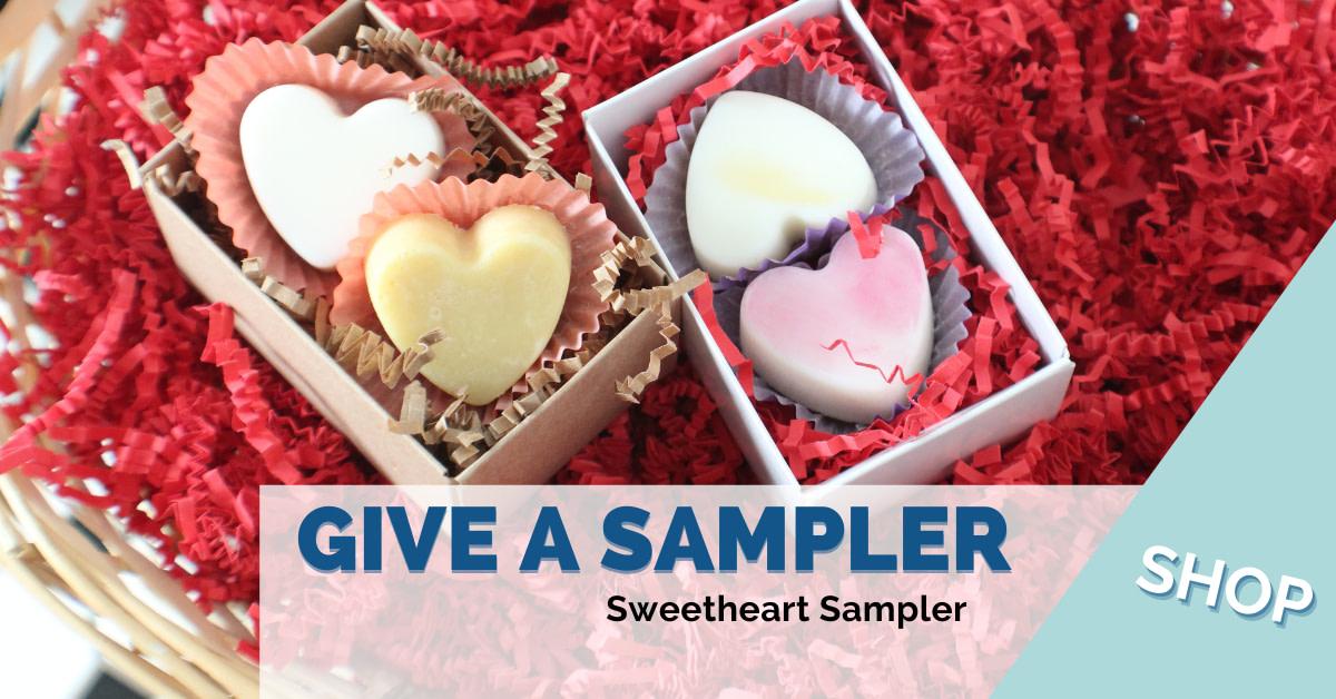 Sweetheart Sampler | $8.95 each