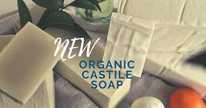 100% Organic Castile Soap Handmade in Bishop Georgia