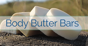 Body Butter Bars - Solid Lotion Bars To Relieve Dry Skin