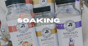 Indulge Your Skin and Senses In Revitalizing Salt Soaks