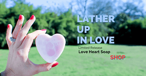 Limited Release Love Heart Soap