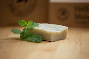 Exfoliating Mint Pumice Scrub Soap